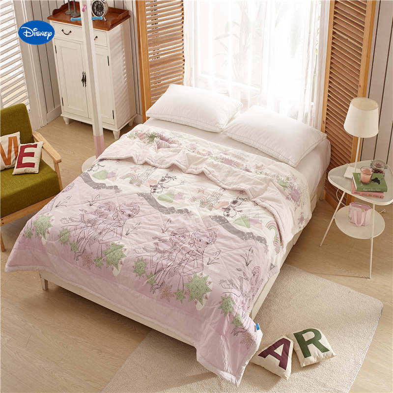 Cheap Bedroom Sets Kids Elsa From Frozen For Girls Toddler: Disney Frozen Elsa And Anna Quilts Comforters Single Twin