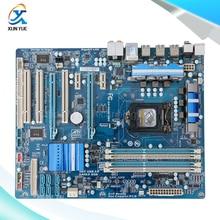 For Gigabyte GA-P55A-UD3 Original Used Desktop Motherboard P55A-UD3 For Intel P55 Socket LGA 1156 DDR3 ATX On Sale