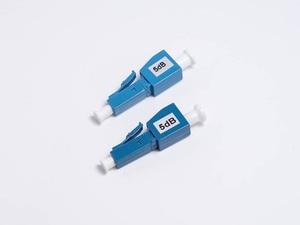 Image 3 - 10 قطعة/الوحدة المخفف 3dB 5dB 7dB 10dB كابل ألياف بصرية علوي البصرية المخفف المكونات في موصل وضع واحد ثابت التطبيق البصري