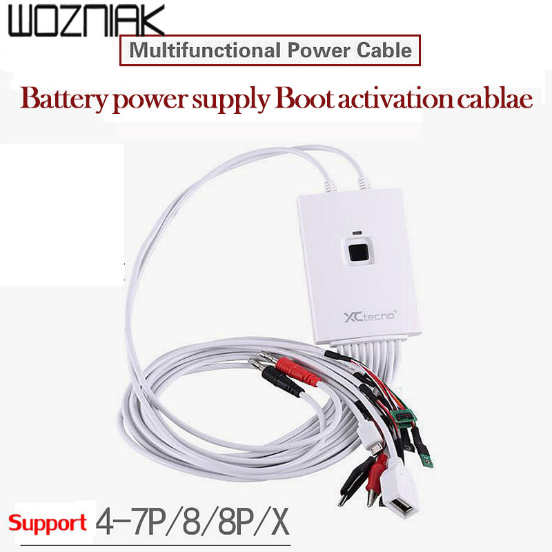 Mobile Phone Repair Tools Power Data Cable for iPhone 4-7P/8/8p/x LCD display DC Power control test Wire, support ios11 стоимость