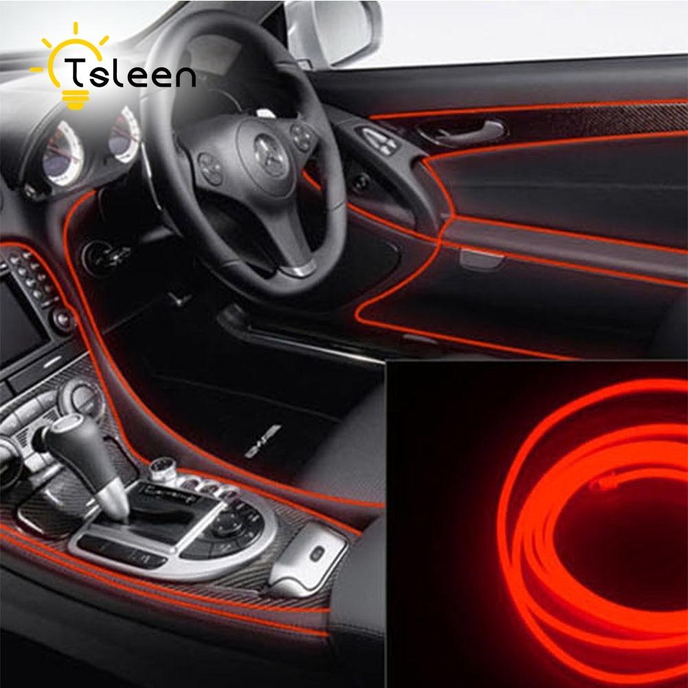 TSLEEN 2 Mt 8 Teile/los Neon Draht Lichter Dance Decor Licht Neon ...