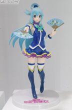 KonoSuba figura de los dioses de Akua, modelo de juguete, Aqua KonoSuba, bendición de este maravilloso mundo