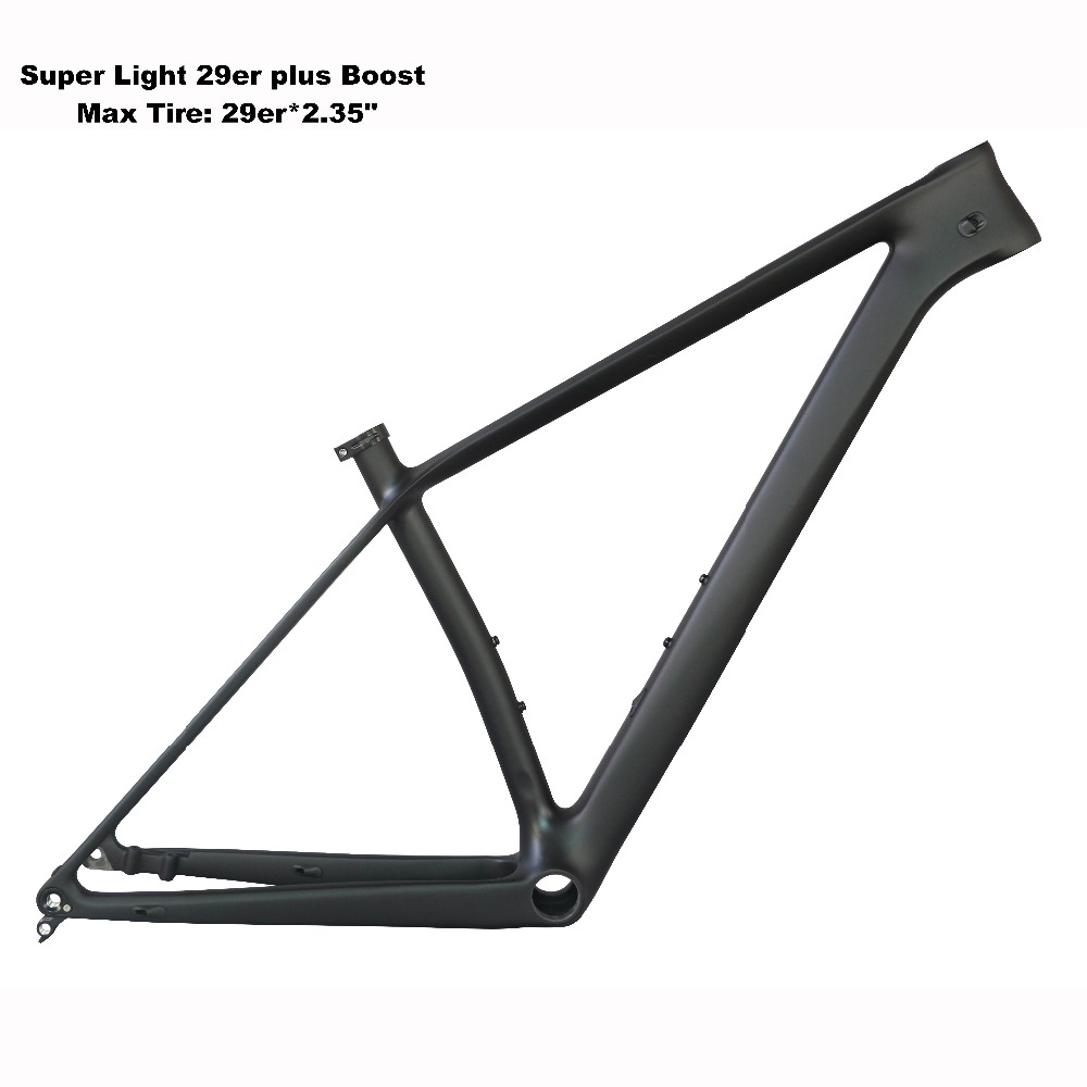 2019 Carbon  Mountain Bicycle  Frame 29er Boost With BB92 With 29er*2.35 Tire Fm199-B-SL Frame And 29er*3.0 FM299-B-SL