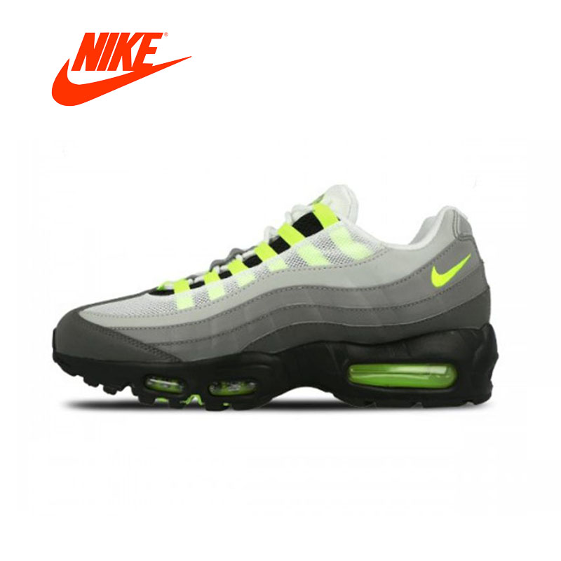 """finest selection 4341f 10295 Original Nike Air Max 95 OG """"NEON"""" Mens Running Shoes Breathable New ..."""