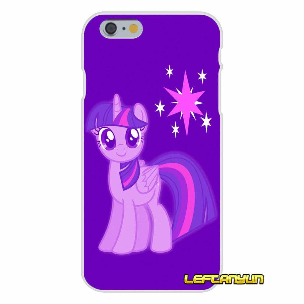 Для samsung Galaxy S3 S4 S5 мини S6 S7 край S8 S9 Plus, Note 2, 3, 4, для девочек от 5 до 8 лет с героями мультфильма «Мой маленький пони» с Сумеречной искоркой Чехлы для мобильных телефонов