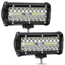 цена на Car 12V 24V barra LED bar Spotlight Fog Light Driving Off-road LED Work Lights led car light SUV Truck Headlight car accessories