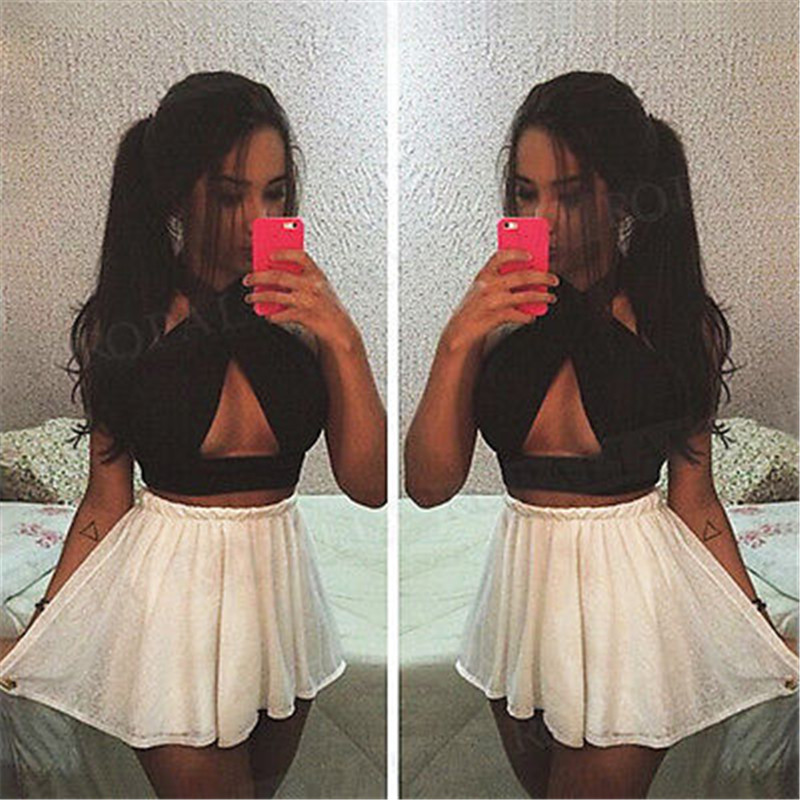579542b1fa4f1 Detail Feedback Questions about Women s 2017 Bustier Crop Top Sexy Bandage  Backless Crop Tops Women Vest Cross Strap Tank Tops Cropped Feminino  1220  on ...