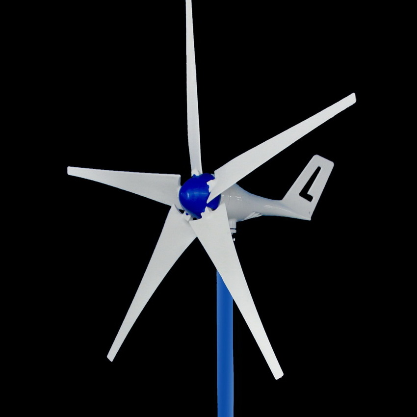 2019 New Design 400W DC Wind Turbine Generator 12V 24V max 600W wind generator