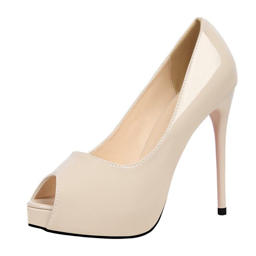 Luxe Verni 1 En Femme De Rouge Rose 6 4 Mariage Designer 2018 Peep 3 Plate Chaussures Ds Toe 5 forme 7 2 Cuir Talons Marque b0048 wE7qzdHO