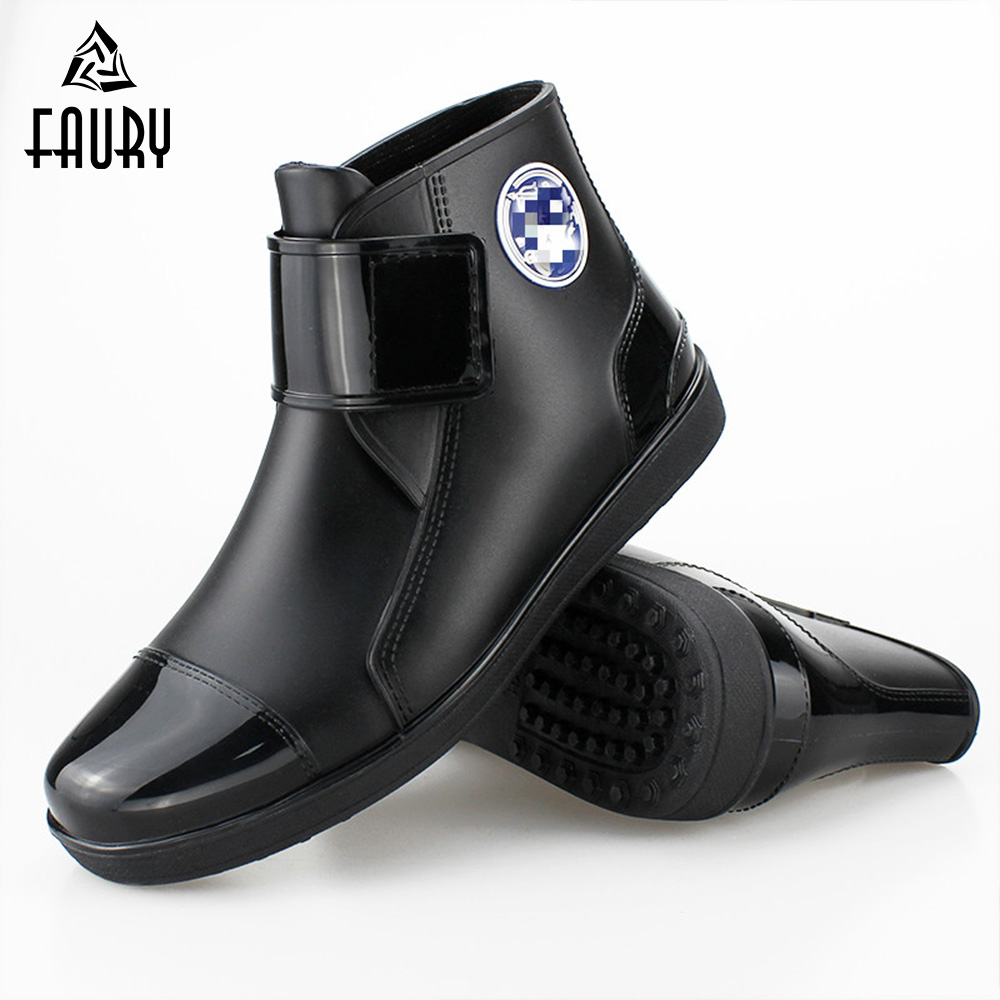 Fashion Chef Waiter Work Non-slip Waterproof Shoes Restaurant Hotel Kitchen Men Male Cooking Canteen Cozinha Flat Footwear
