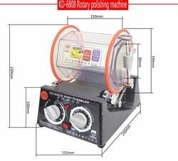Freeshipping! Nieuw! KD-6808 Capaciteit 3Kg Rotary Tumbler Polijstmachine Sieraden Polijstmachine Rotary Afwerking