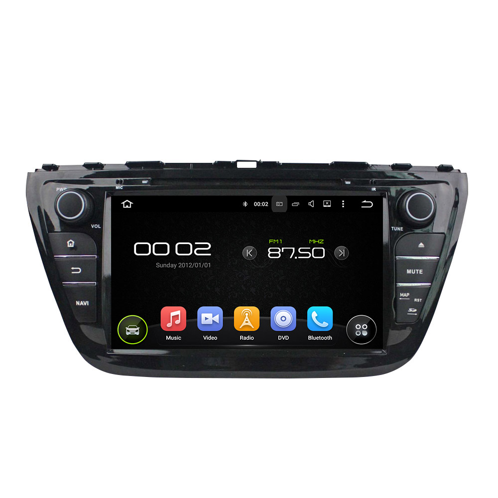 8 Android 6.0 Octa-core Car DVD Player For SUZUKI SX4 S Cross 2014 Car Video Audio Stereo Free MAP Car Multimedia Player
