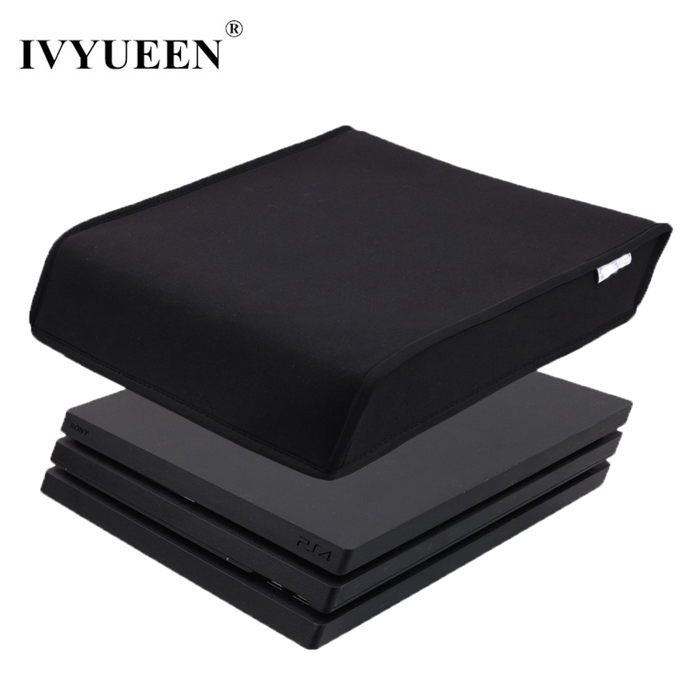 IVYUEEN DustProof Cover Case For Sony Playstation 4 PS4 Pro Console Soft Dust Proof Neoprene Cover Sleeve For Horizontal Place стоимость