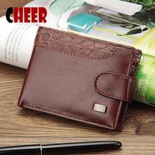 Брендовый кошелек мужской кошелек для монет Карманный портфель 3 складные кошельки цена мульти-бит дизайнерский клатч роскошный качественный кошелек