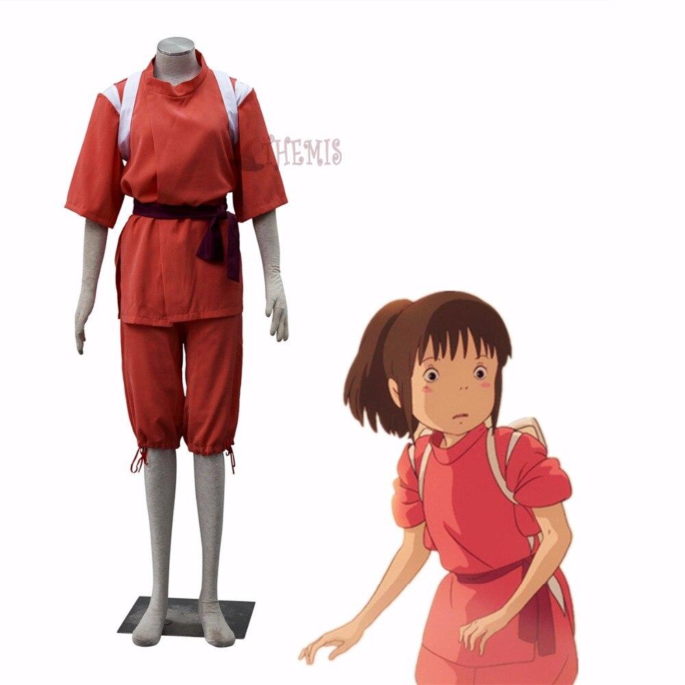 Athemis Anime Cosplay Spirited Away Chihiro Ogino Cosplay Costume Custom Made Size Cosplay Costume Anime Cosplaycustom Cosplay Costume Aliexpress
