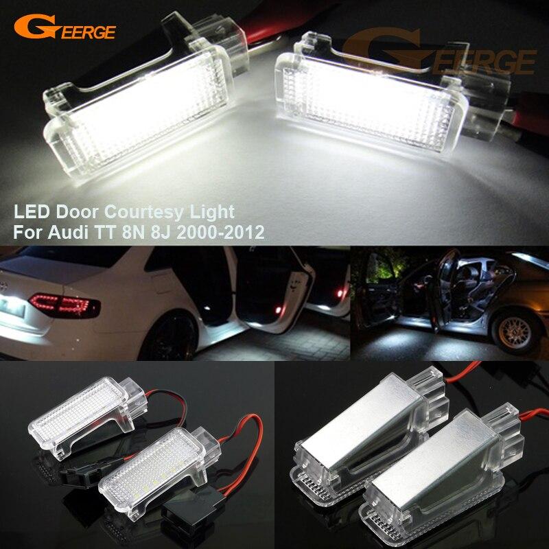 For Audi TT 8N 8J 2000-2012 Excellent Ultra bright 3528 LED Courtesy Door Light Bulb No OBC error hankook ah11 8 25r16 128 126l tt