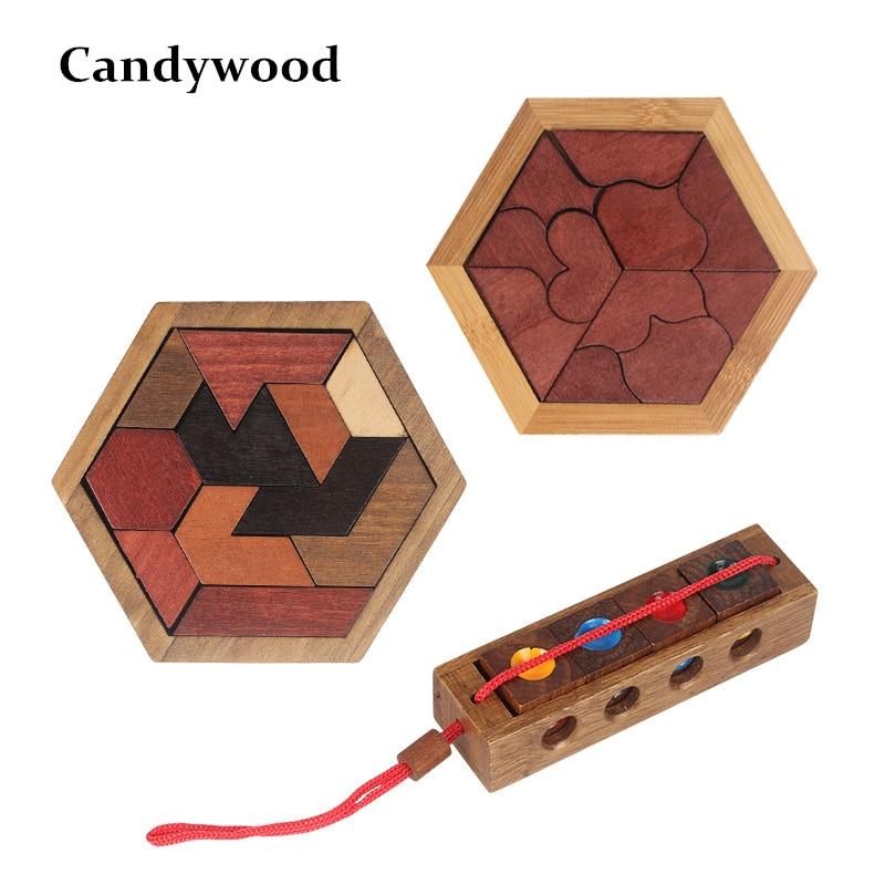 Engraçado Abnormity Forma Geométrica de Madeira Quebra-cabeças de Madeira Puzzle Brinquedos De Madeira Tangram/Jigsaw Board Brinquedos Educativos para Meninos Das Crianças Dos Miúdos