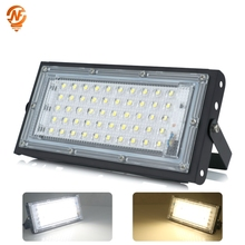 LED Flood Light 50W 220V 240V Perfect Power Floodlight IP65 Waterproof Outdoor Wall Reflector Lighting Garden Square Spotlight 50w led flood light ac 220v 230v 240v outdoor floodlight spotlight ip65 waterproof led street lamp landscape lighting