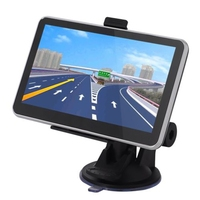 Car GPS Locator Navigator System Charger Button Touch Screen Operation Car Bluetooth Video MP3 Player FM Transmitter USB Port
