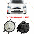Car styling LED Fog LIGHT Lights  For TOYOTA AURIS  2007-2011   1 SET lamps drl BLUE  WHITE YELLOW  Refit