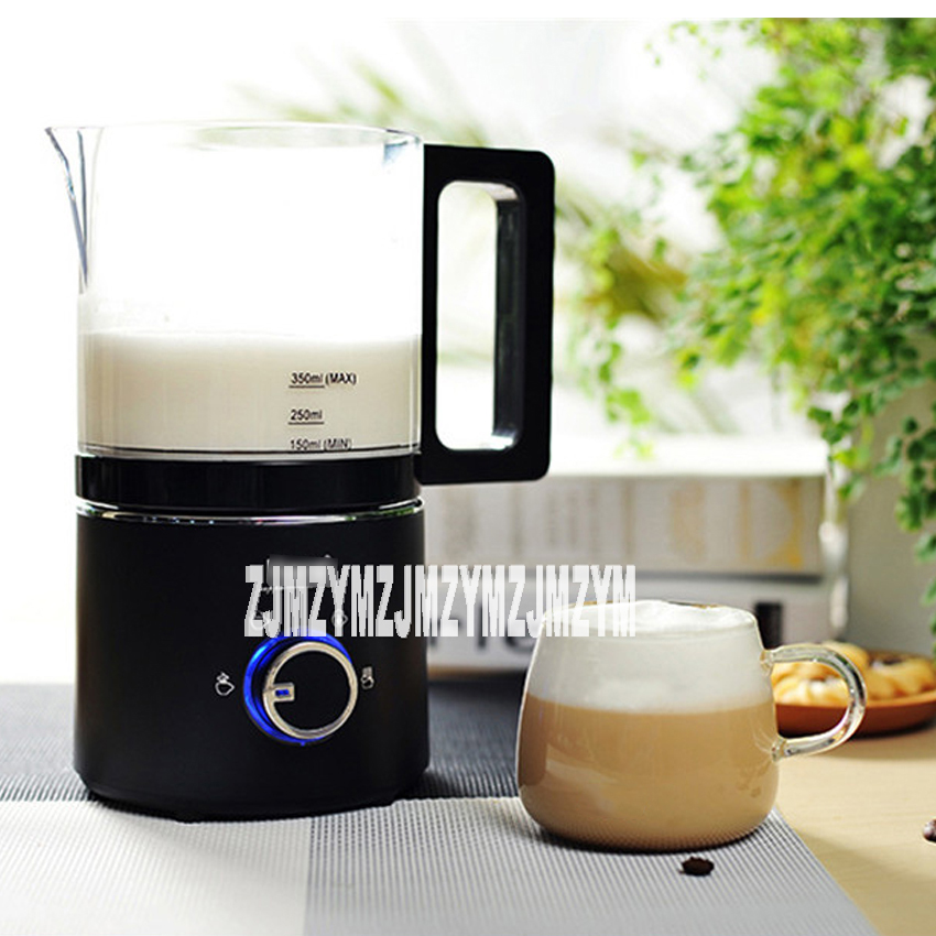 220V / 550W milk foam machine automatic coffee hot and cold playing milk electric fight foam business stainless steel milk household electric hot and cold milk foam machine coffee milk foam machine automatic milk mixer foam maker hn 1300
