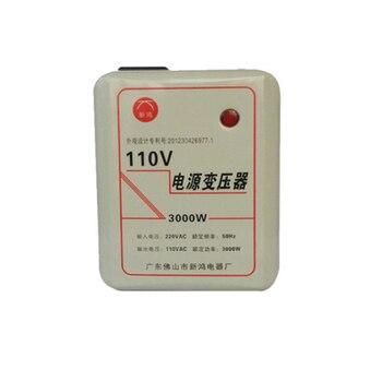 Transformer, AC 220V to AC110V, 3000W Power Converter