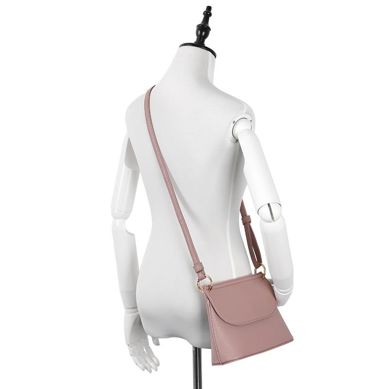 YBYT varumärke 2018 nya högkvalitativa mjuka kvinnor skal väska - Handväskor - Foto 2