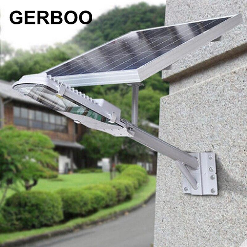 Solar Lights Outdoor Solar Powered Panel LED Street Lights Road Lamp Lampada Solar Garden Emergency Lights