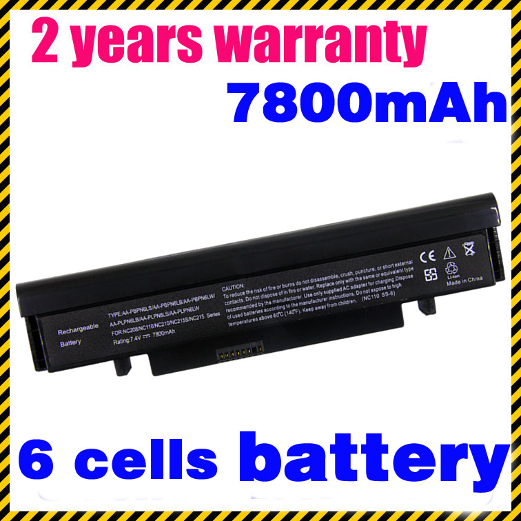JIGU Laptop Battery AA-PBPN6LW AA-PBPN6LS AA-PBPN6LB AA-PLPN6LS AA-PLPN6LB FOR Samsung NC210 NC215S NC215 NC208 NC111 NC110