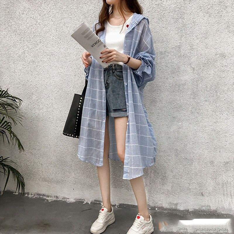 Long-Coats Summer Clothing Cardigan Lantern-Sleeve Loose Female Autumn Women Plus-Size
