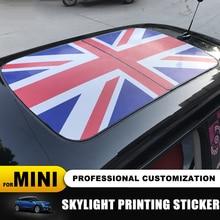 23 motif Union Jack/ours toit ouvrant lucarne motif autocollant pour MINI COOPER F55 F56 F57 F60 R55 R56 R57 R58 R59 R60 R61 autocollants