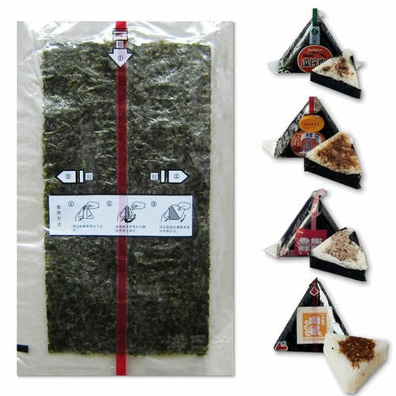 100sheets Sushi Nori Seaweed AAA quality Dark green Nori sushi alge, top selling nori sushi onigiri nori100sheets Sushi Nori Seaweed AAA quality Dark green Nori sushi alge, top selling nori sushi onigiri nori