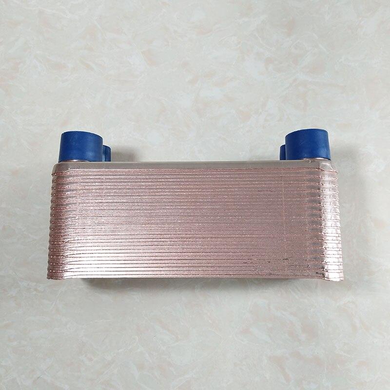 Brazed Plate Heat Exchanger,  Wort Chiller,316 Stainless Steel Material - 30 Plates Brewing Chiller, Homebrew Wort Chiller