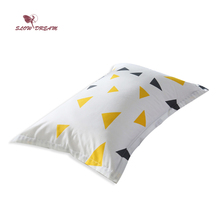 SlowDream Decorative Pillowcase Bedding Home Pillow Cover 48X74CM Size Sleeping Nordic Bedroom Geometry Pillowcases