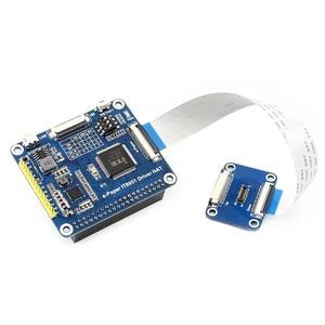 Image 4 - Waveshare 6 inç e mürekkep ekran HAT ahududu Pi 800*600 çözünürlük e kağıt IT8951 denetleyici USB/SPI/I80/I2C arayüzü