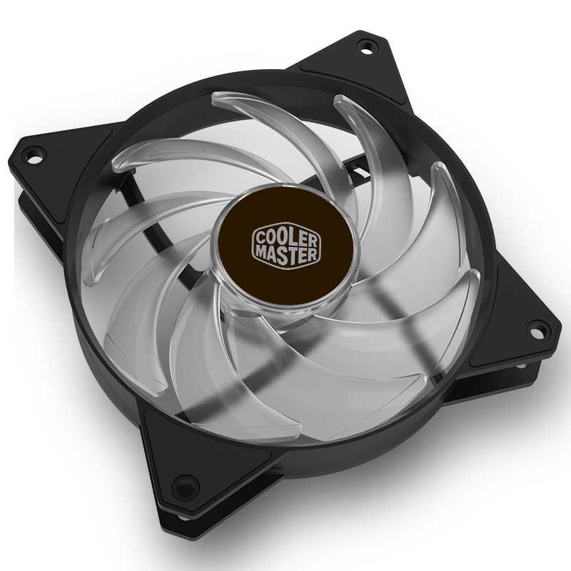 Cooler Master MF120 ARGB 3pcs/lot 12cm RGB Computer Case PC Cooling Slient  Fan For CPU Cooler CPU Radiator 120mm PWM Quiet Fan