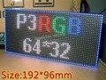 P3 RGB SMD Interior LEVOU exibe módulo, 192mm x 96mm, 64*32 pixle, P3 rgb painel de led, vídeo, imagens, imagem, realmente HD, Hub75, 16pin