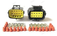 טייקו/AMP Econoseal J סדרת 10 פין 174655 2/174656 7 174657 2 נקבה זכר תקע חשמל עמיד למים אוטומטי מחבר Denso