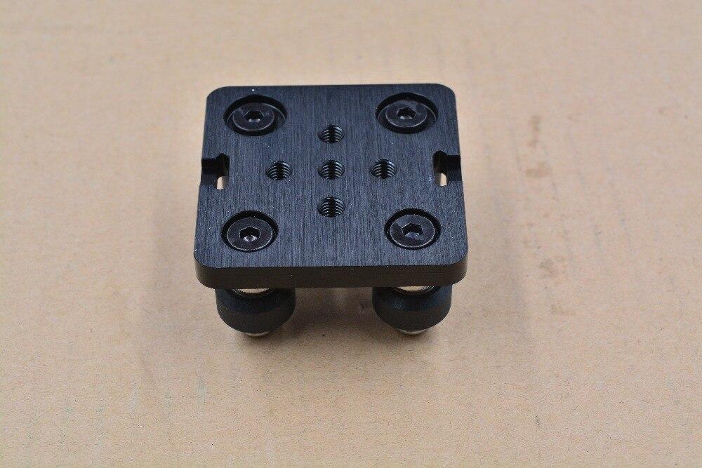 3D Printer part Openbuilds V gantry plat set special slide plate for aluminum profiles V-slot mini five roulette 1set 1pcs openbuilds slider gantry plate standard 65 65 3mm aluminum alloy cnc special slider plate for 3d printer