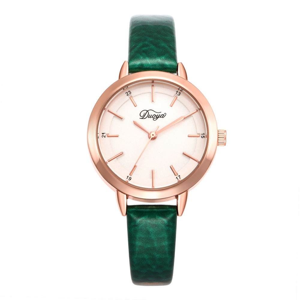 10 Colors New Fashion Luxury Simple Golden Dial Leather Women Watch Ladies Femininity Wrist Watches Relogio Feminino Reloj Mujer