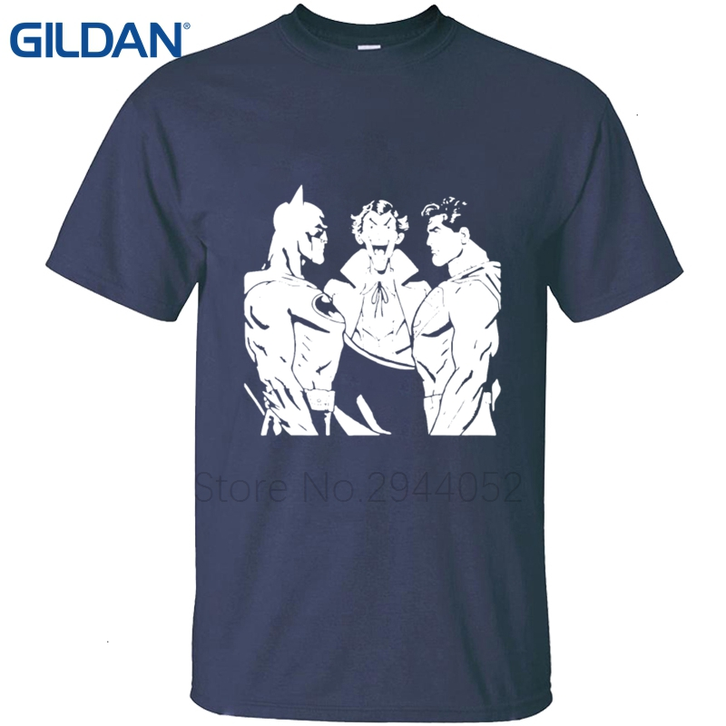 Assez Short Sleeve T Shirt Funny Print for men Swag Batman Superman  AH87
