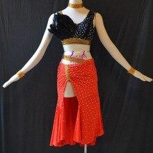 KAKA-L1506, Для женщин Одежда для танцев для девочек бахрома Латинской платье, сальса платье Танго Самба Румба Чача платье, Для женщин платье