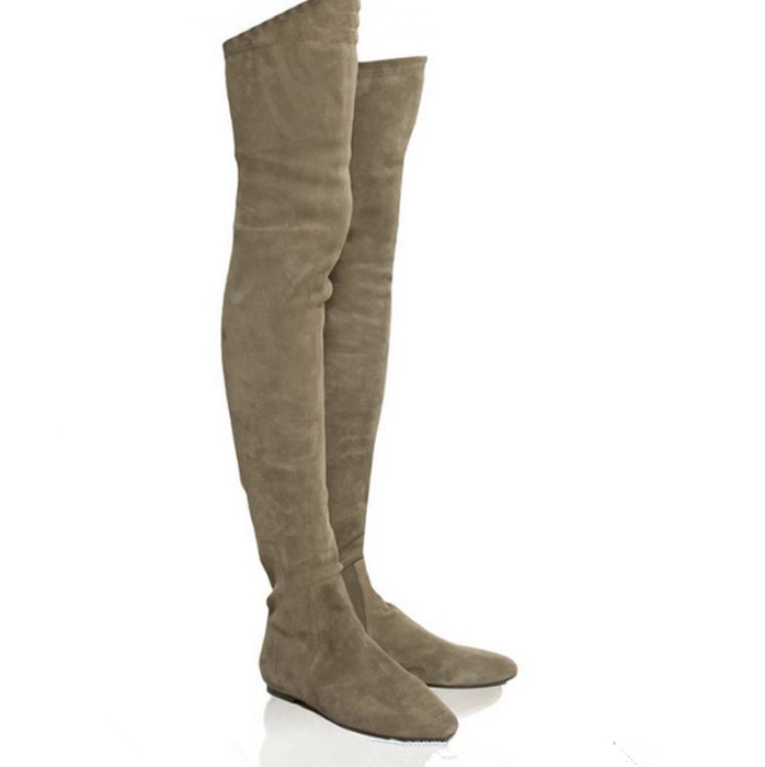 Popular Gray Thigh High Boots-Buy Cheap Gray Thigh High Boots lots ...