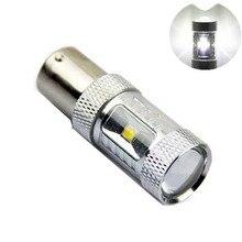 1pcs 30W 1156 S25 P21W BA15S CREE Chip 6000K White LED Turn Signal Light Backup BA15S Led Reverse Lamp 360 Degree Beam