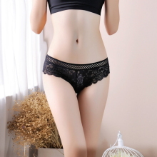 Free Shipping Sexy and comfortable lace underwear low-waist hollow-out lady briefs  S1511 LC
