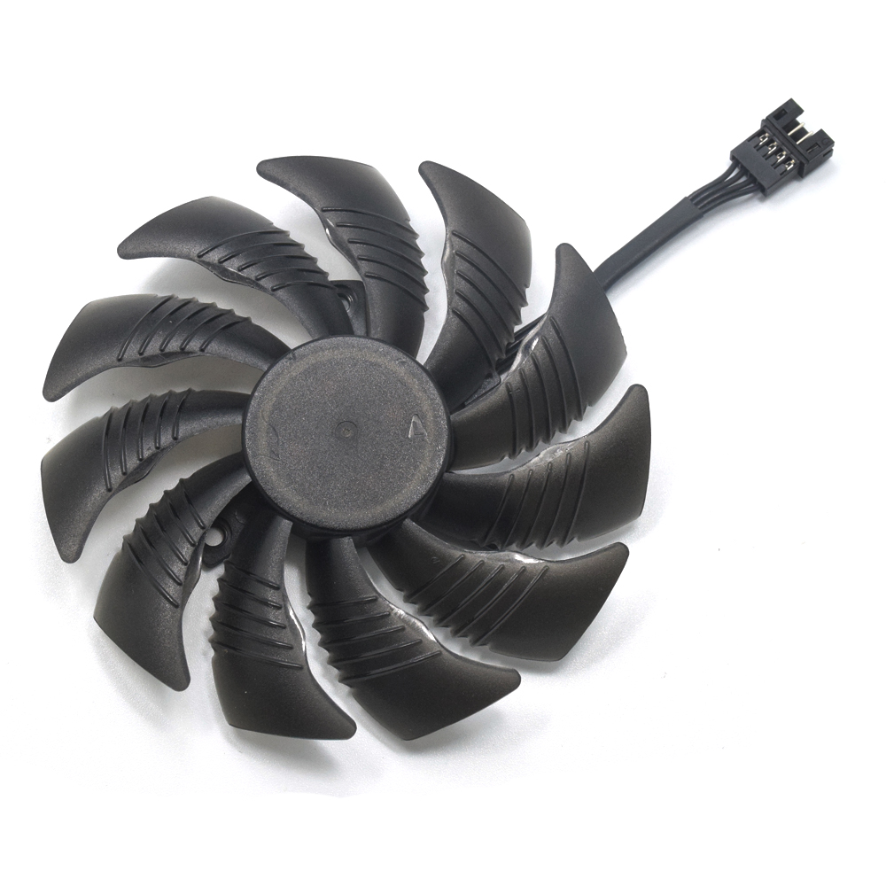 T129215SU PLD09210S12HH Cooler Fan For Gigabyte <font><b>NVIDIA</b></font> GeForce <font><b>GTX</b></font> 960 4GD P106-100 6G RADEON RX580 570 RX470 480 Gaming 4G Card image