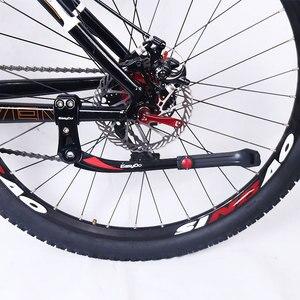 Image 5 - Easydo mtb自転車自転車スタンド駐車ラックmtbマウンテンバイク支持体側キックスタンドフットブレース24  29 調節可能な34 41センチメートル