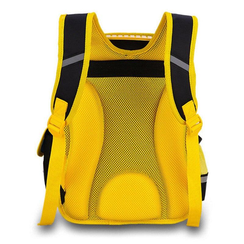Image 3 - 2020 NEW Waterproof nylon Orthopedic Children School Bags boys  Cartoon Prints Kids School Backpacks Mochila Infantilmochila  infantilkids school backpackchildren school