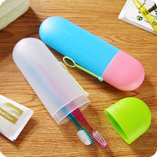 Travel Portable Washing Toothbrush Cup Cover Ribbon Candy Toothpaste Tube Storage Box Hot Sale