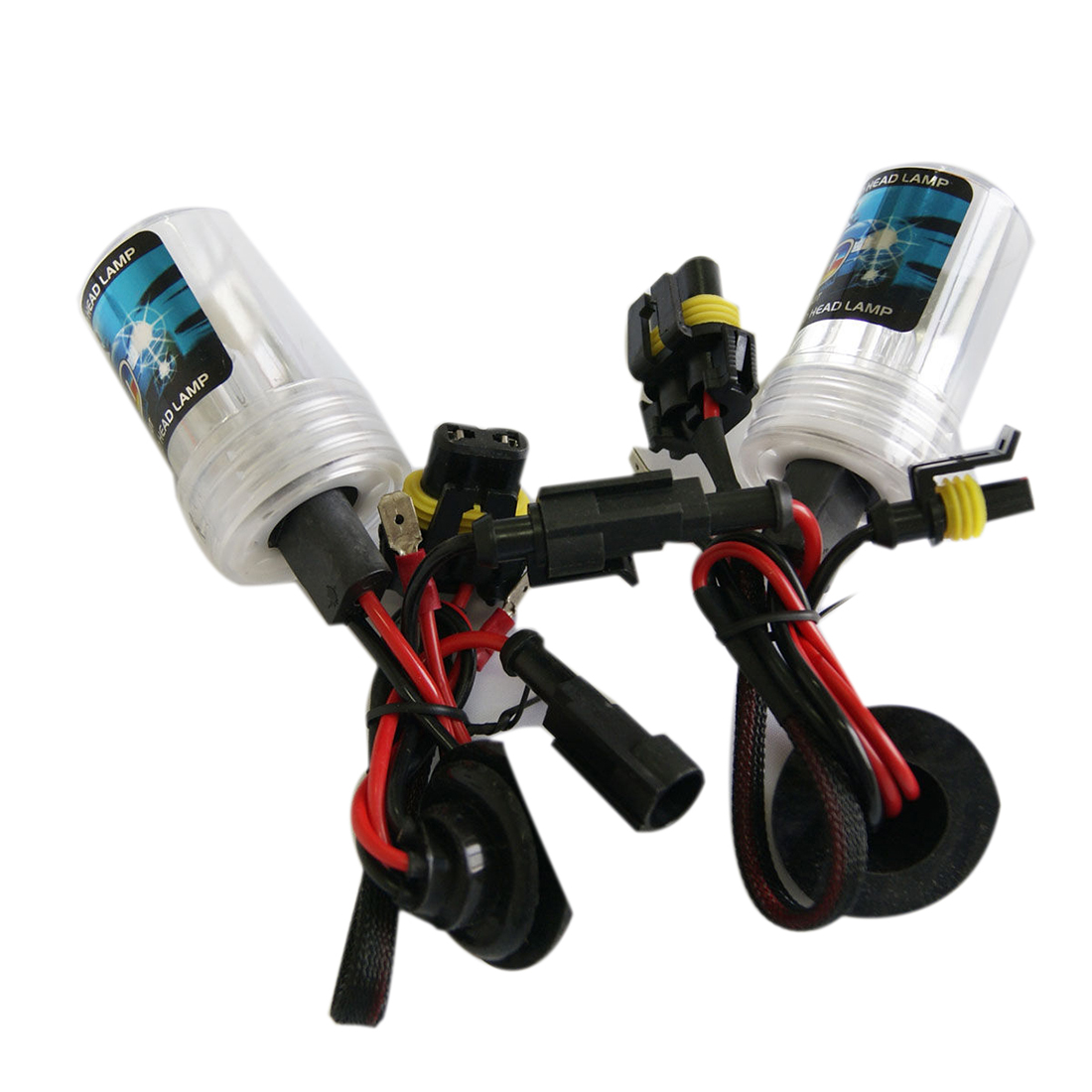 Tonewan Double Light 12v 55W H7 Xenon KIT LED Fog Tail Turn DRL Head - Luces del coche - foto 2